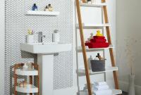 How to make a decorative ladder shelf