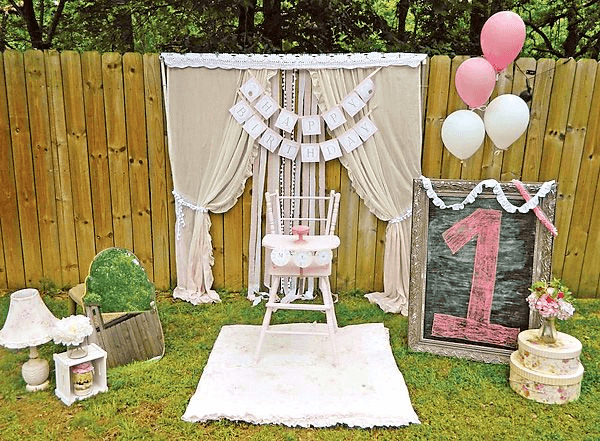 How To Decorate First Birthday Girl Party For Your Little Lady