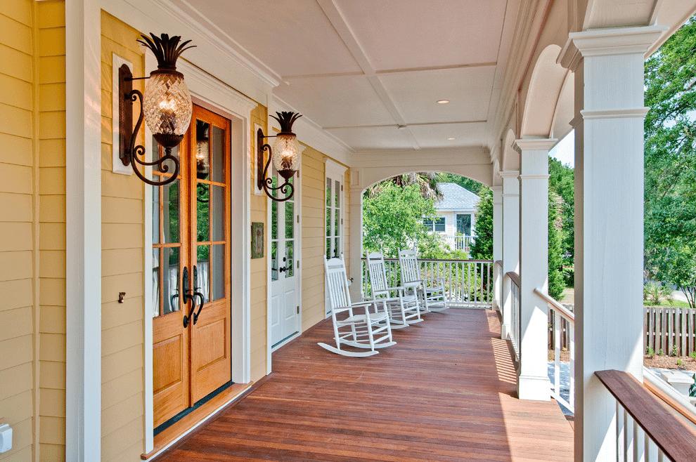 Outdoor porch sconces