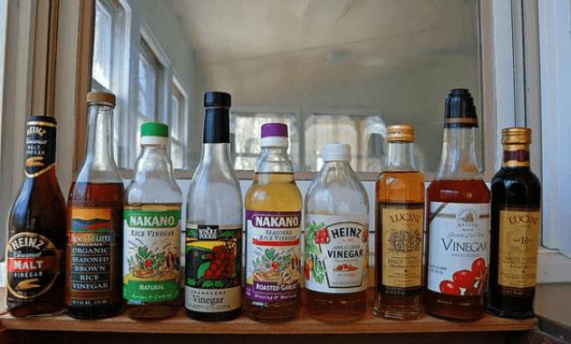 Remove mold with vinegar