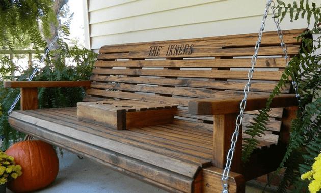 Rollback porch swing