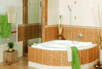 Small bathroom decorating ideas on a budget