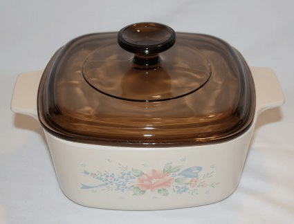 2 quart shallow baking dish