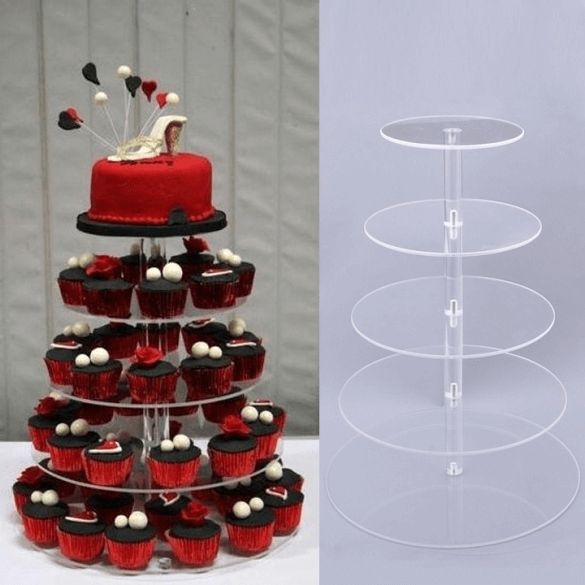 5 tier cake stands