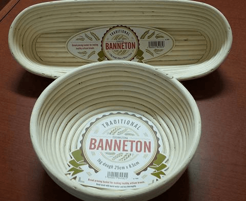 Bannetons bread proofing baskets