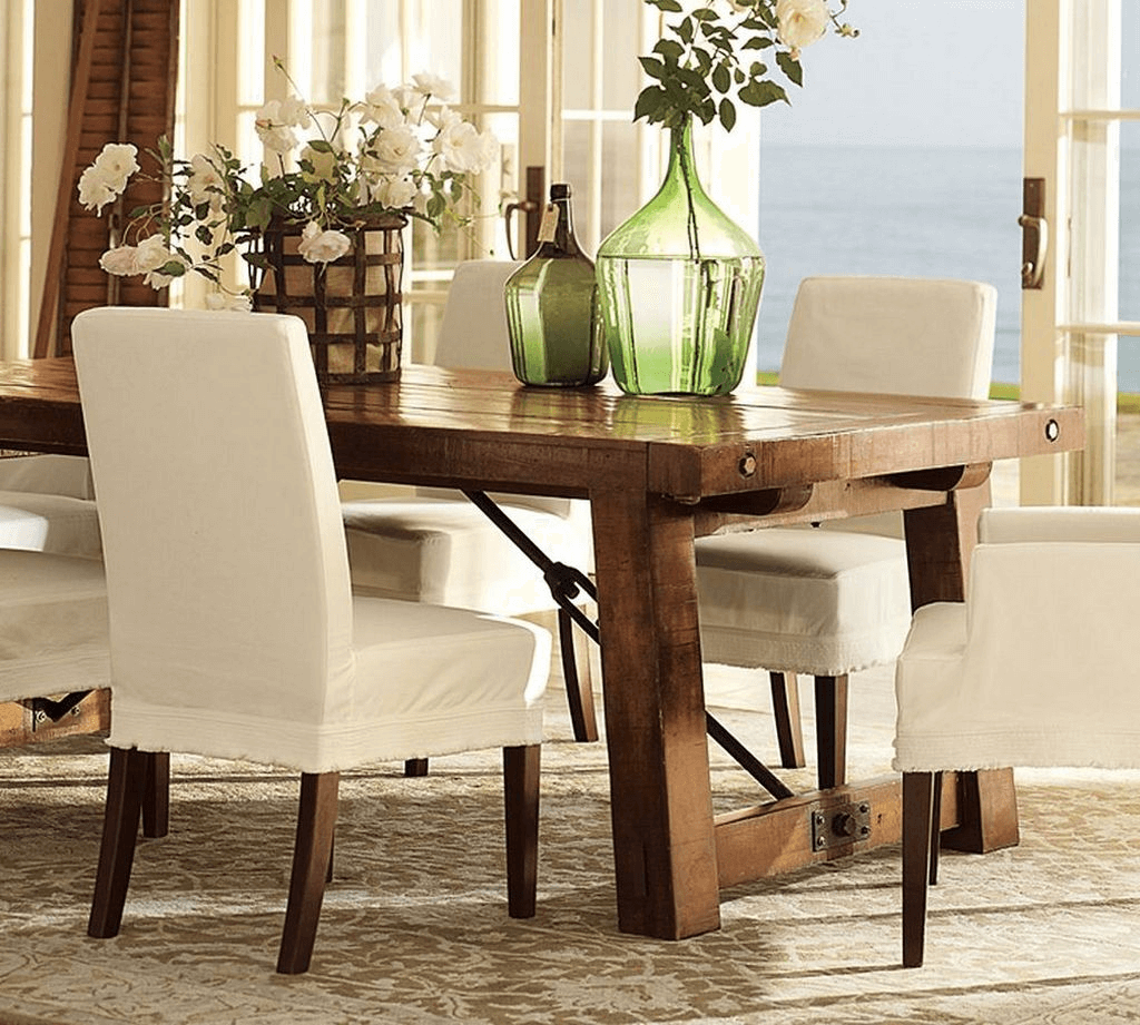 Botanical dining room table decor ideas