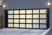 Contemporary Garage Door Design Ideas with meranti mahogany wooden materials
