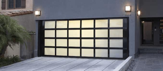 Contemporary Garage Door Design Ideas with meranti mahogany wooden materials