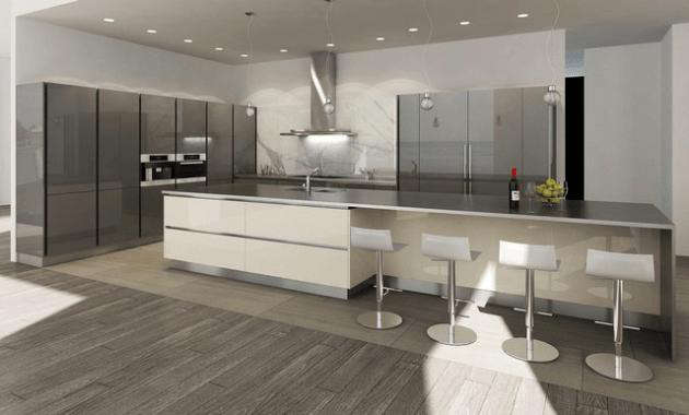 Contemporary Kitchen Island Idea