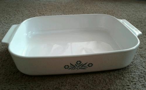 Corningware lasagna baking dish