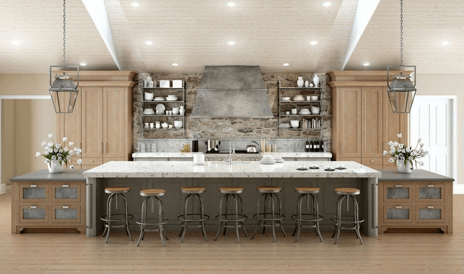 Custom kitchen cabinets long island