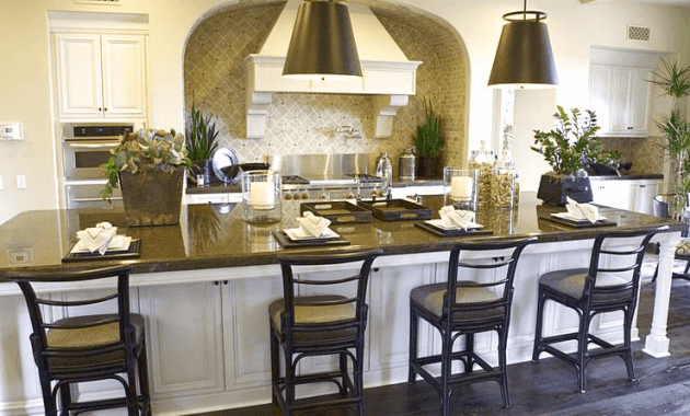 Design ideas large kitchen island with seating for 4