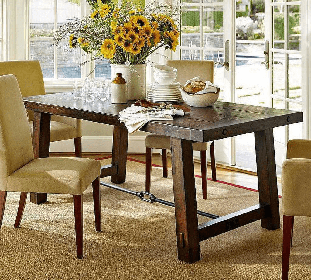 Simple Ideas On The Dining Room Table Decor: Five Simple Tips How To Decor Dining Room Table