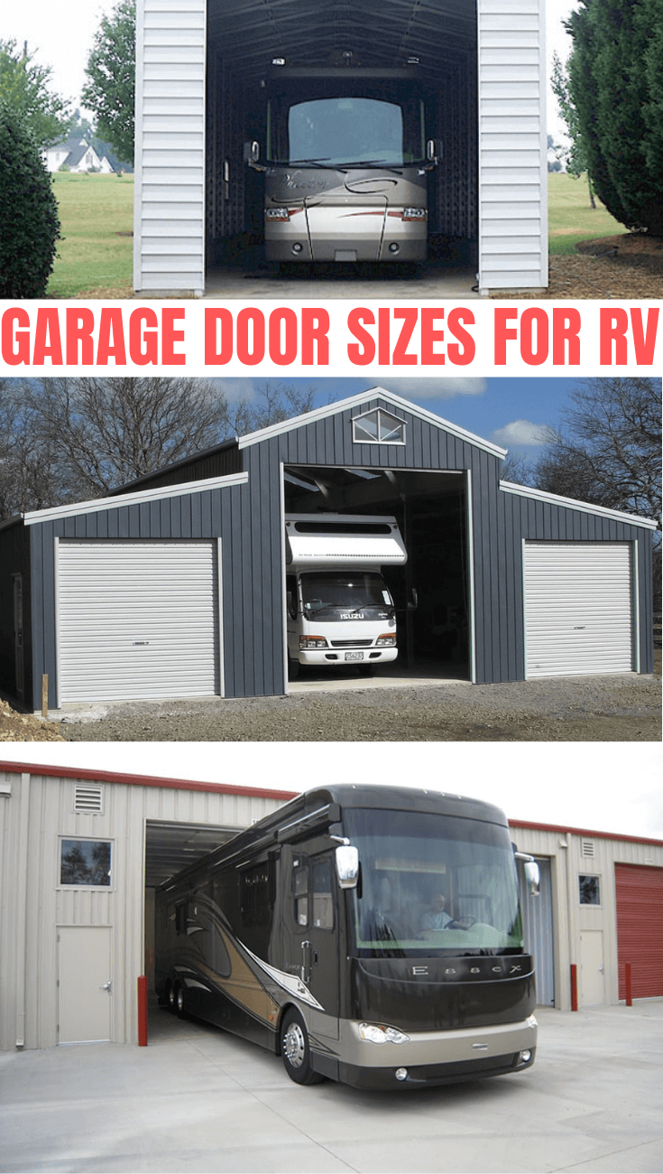GARAGE DOOR SIZES FOR RV
