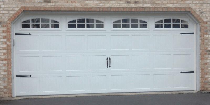 Garage door windows replacement