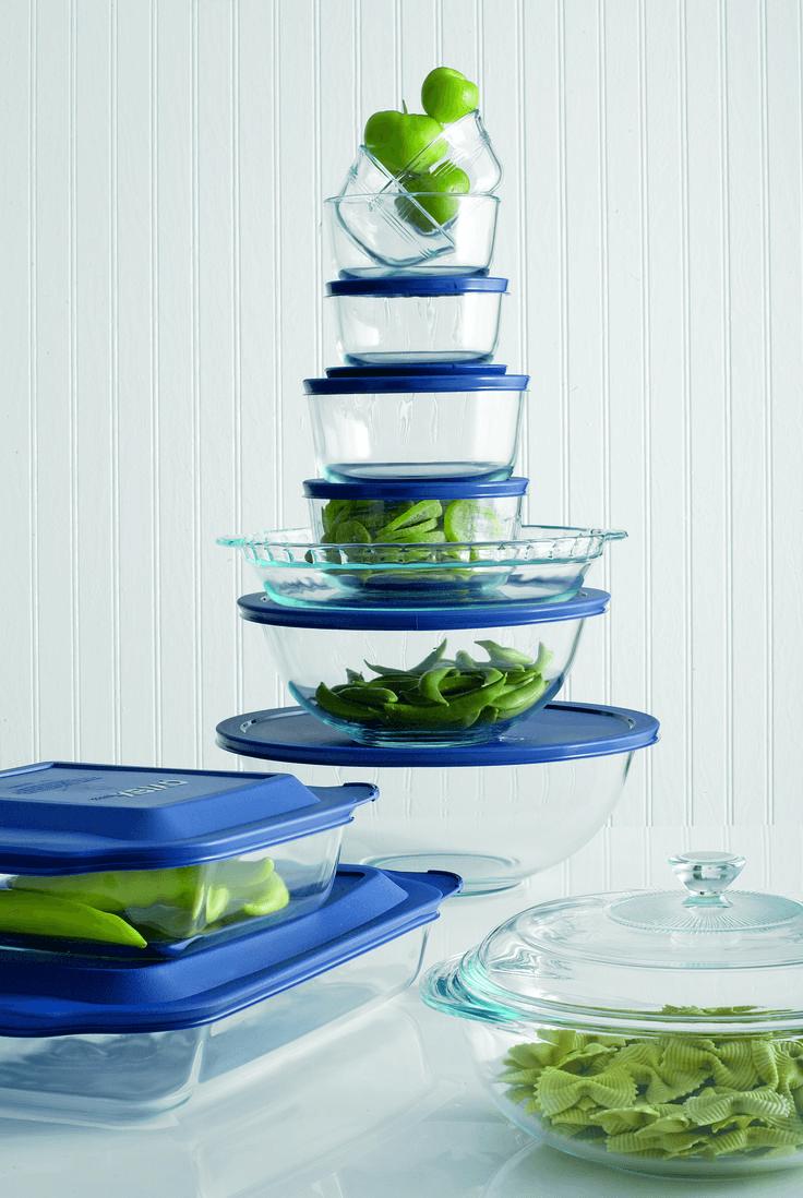 Glass bakeware sets