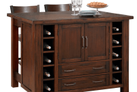 Home Styles Kitchen Island with Breakfast Bar