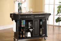 Kitchen Island Cart Stainless Steel Top
