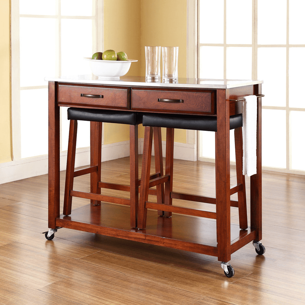 stools for kitchen island kitchen island cart with stools 5849