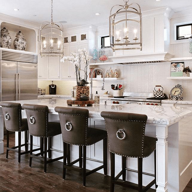 Kitchen Island With Bar Stool Seating