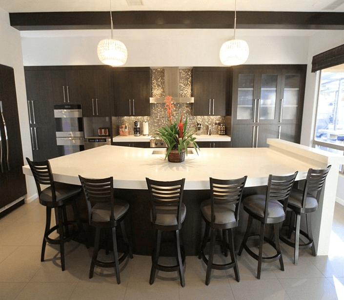 Guide To Choose Kitchen Island With Seating For 6