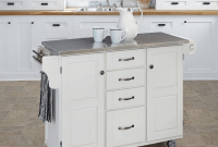 Kitchen Islands Cart White