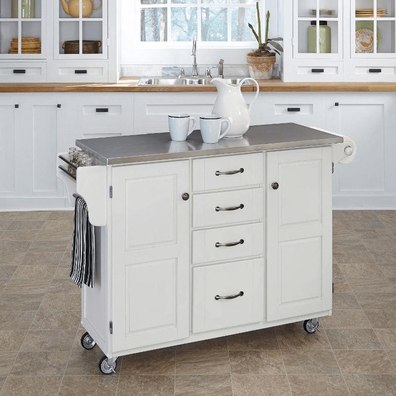 Kitchen Islands Cart White