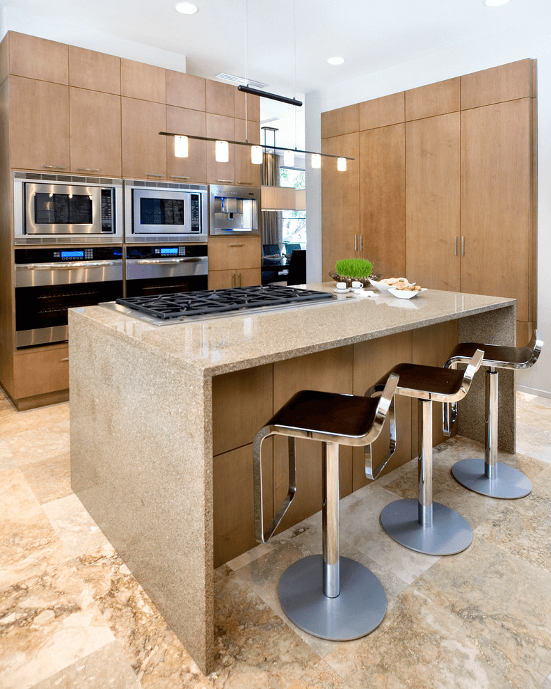 Ranges In Kitchen Islands
