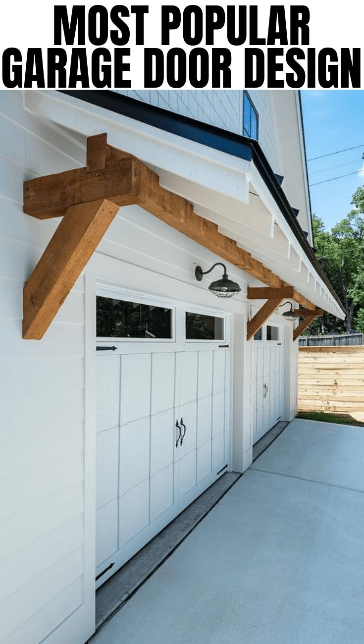 MOST POPULAR GARAGE DOOR DESIGN IDEAS