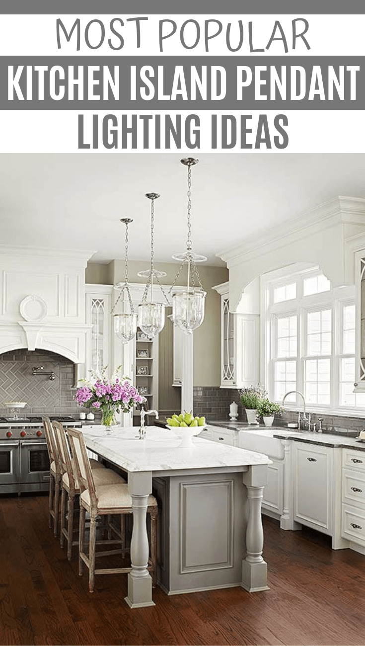 MOST POPULAR KITCHEN ISLAND PENDANT LIGHTING IDEAS