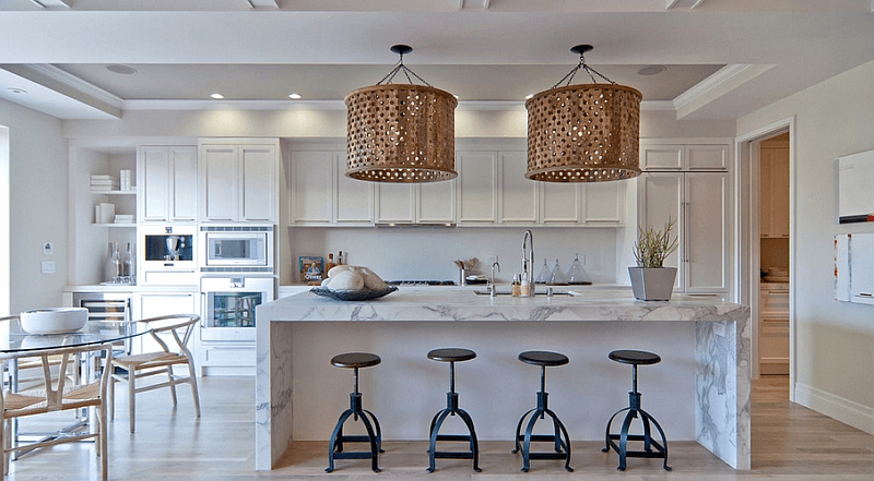 Modern Japanese Contemporary Island Pendant Lighting