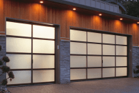 Most popular garage door design