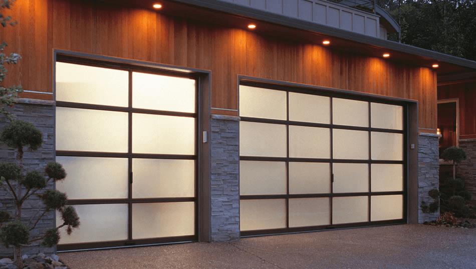 Most popular garage door design
