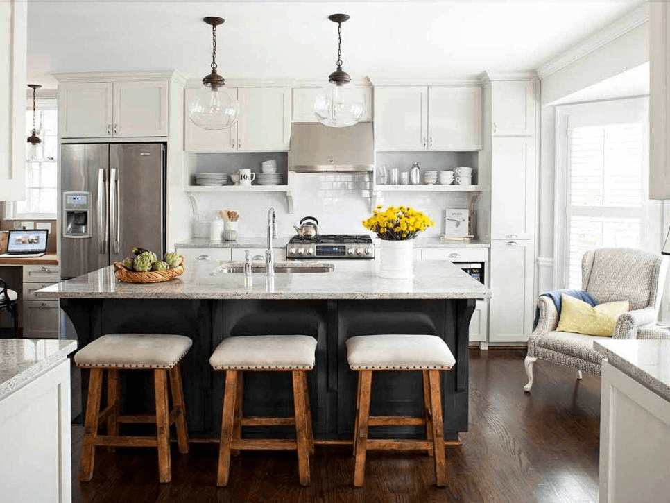 Maximize Kitchen Island With Seating