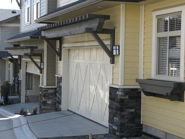 Pergola garage door design