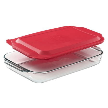 Pyrex lasagna pan with lid