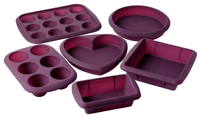 Silicone bakeware sets