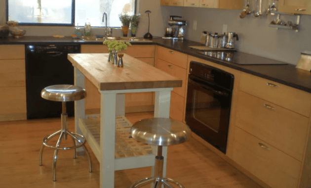 Kitchen Island  X  With Seating