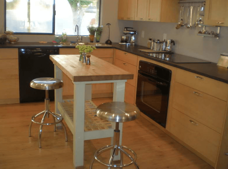 How Build Portable Kitchen Island