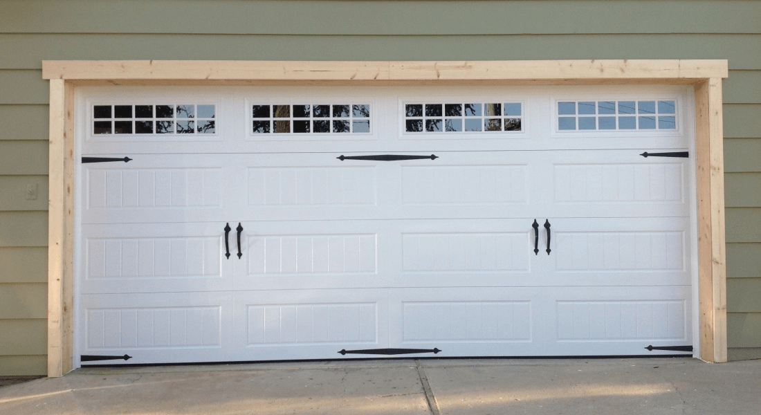 The stunning exterior standard garage door sizes rough for How big is a standard garage door