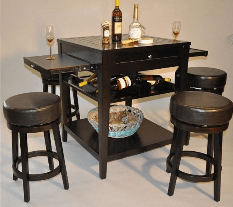 eci kitchen island with pull out table