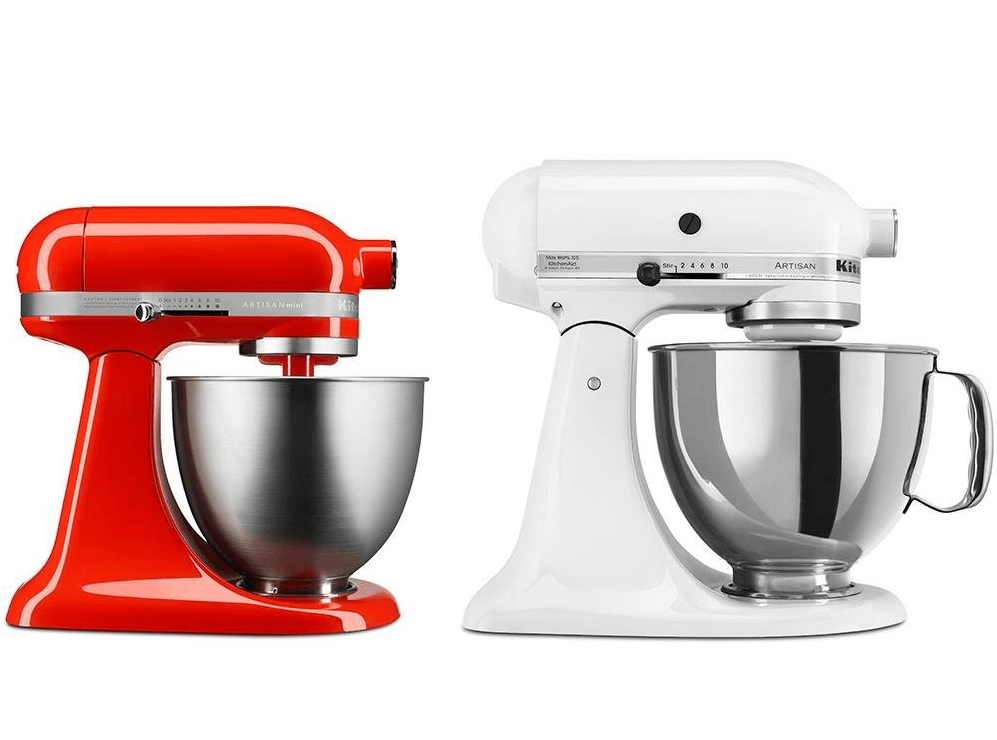 3.5 kitchenaid mixer dimension mini