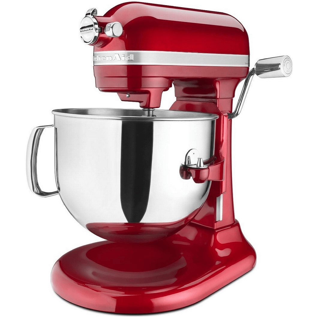7 kitchenaid mixer KSM7586PCA candy aple red