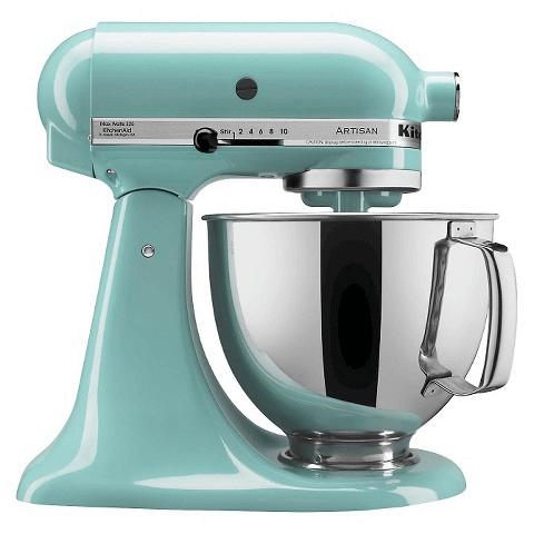 Aqua sky kitchenaid mixer target