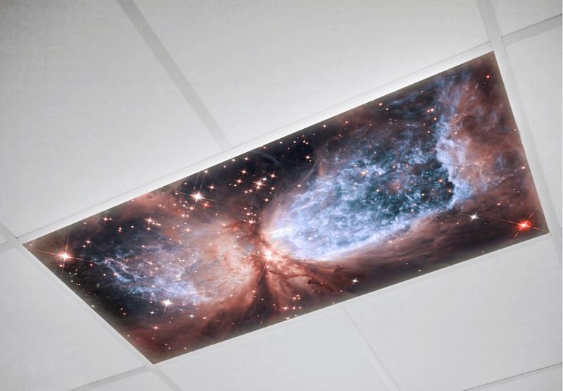 Astronomy Fluorescent light covers