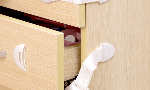 Child safety drawer lock