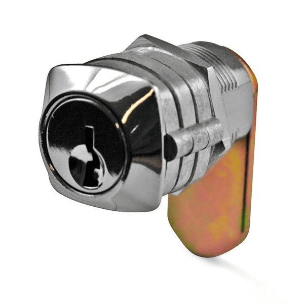 Chrome Drawer and Cabinet Keyed Cam Lock