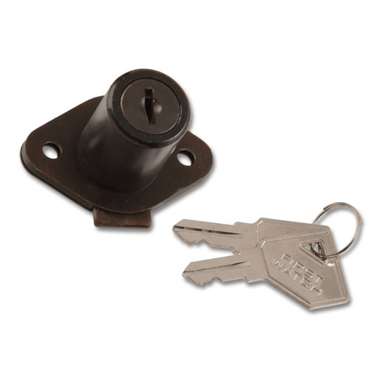 Classic Bronze Cabinet and Drawer Lock