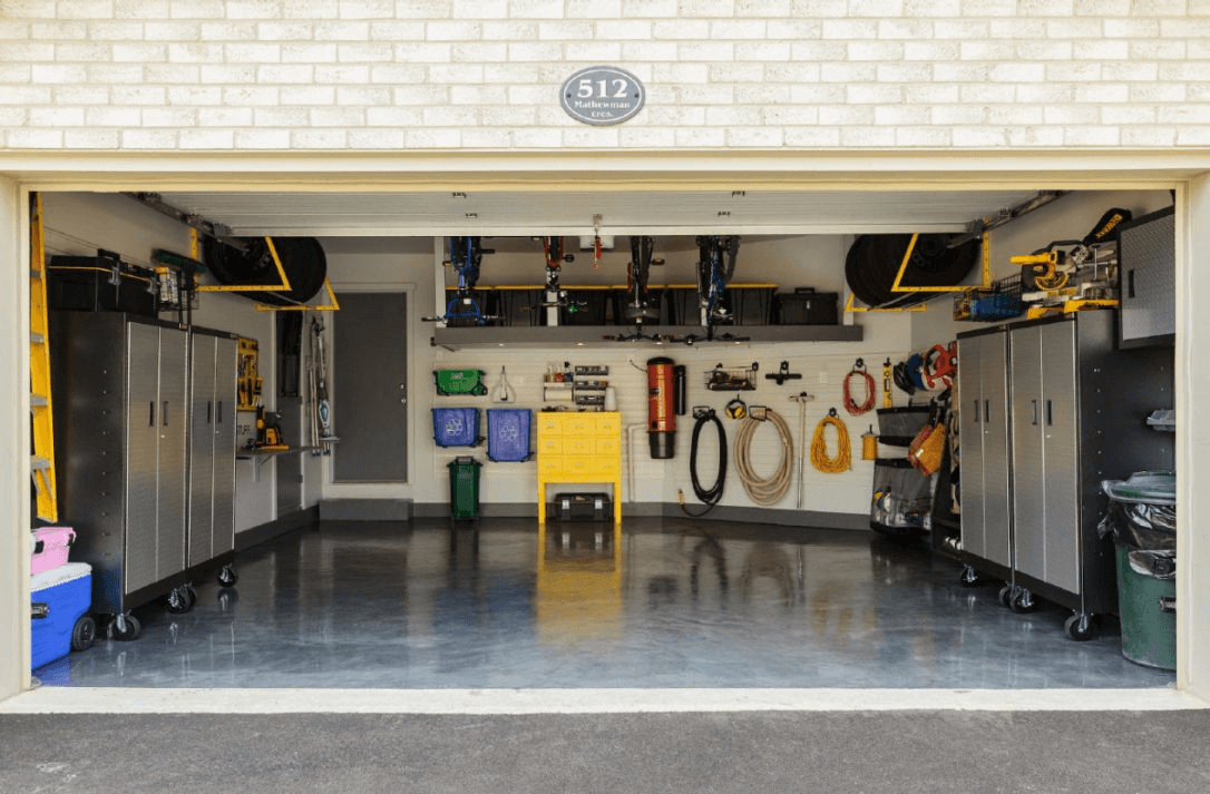 Clean oil off garage floor effectively at affordable cost for How to clean garage floor