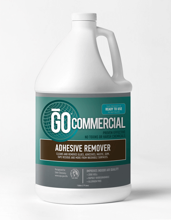 Commercial Adhesive Removal